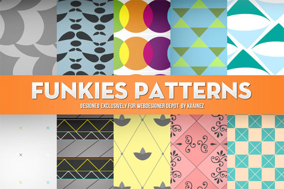Pack Funky Patterns gratuit