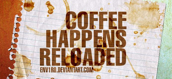 "15 Brushes ""coffee happens reloaded"""