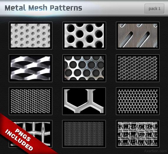 """Motifs """"métal"""""""