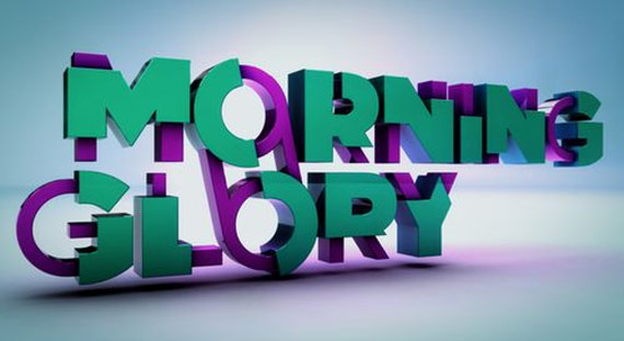 "Font ""Morning glory"""