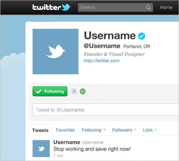 """PSD """"Twitter UI GUI template"""""""