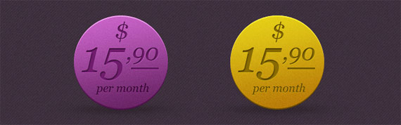 "PSD ""round price tags"""